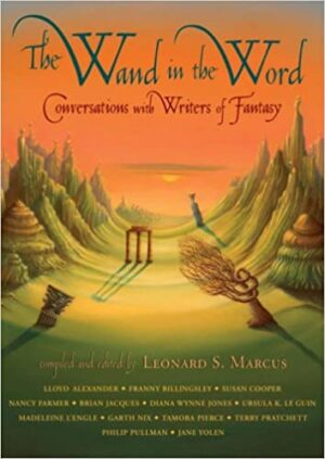 Book cover of Wand in the Word, collection of author interviews