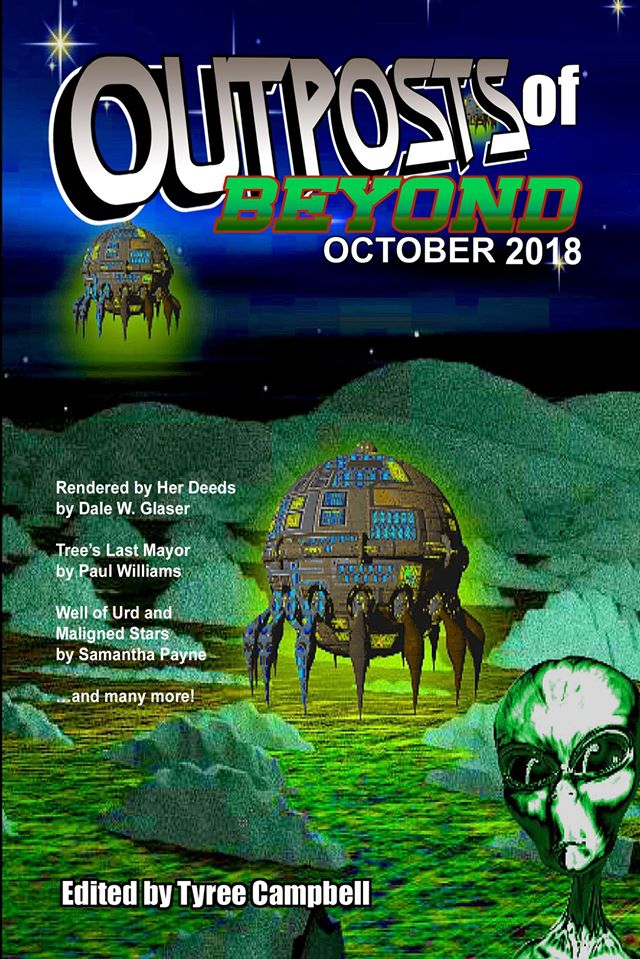 Outposts of Beyond Cover for October 2018